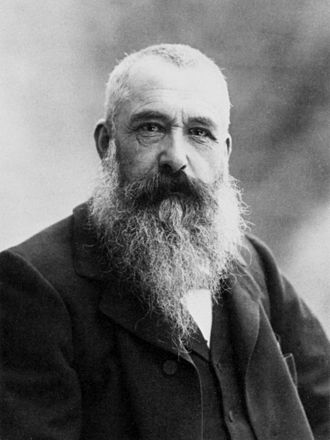 Claude Monet - Claude Monet, photo by Nadar, 1899