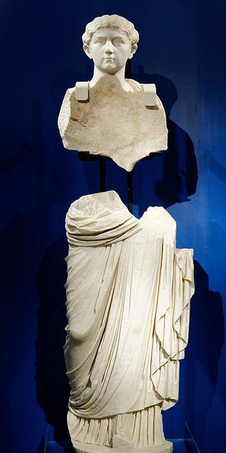 Claudia Antonia - Statue from the Domvs Romana in Melite, Malta