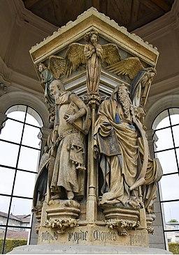 Claus Sluter (1350-1406) Mozesput Champmol Jesaja en Mozes 23-10-2016 15-16-09