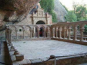 Monastery Juan de la Peña. Romanico aragonés
