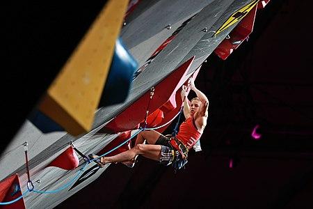 Petra Klinger, 2018 world climbing championships Innsbruck, combined finals