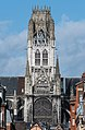 Clocktower of Abbaye Saint-Ouen, South-East View 20140215 1.jpg