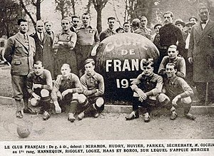 Club Français - Club Français, winners of Coupe de France 1931