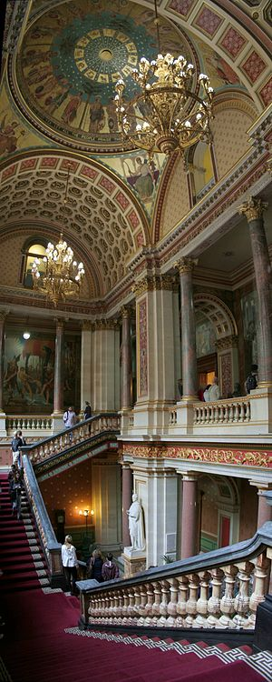 Foreign and Commonwealth Office - The Grand Staircase in September 2013
