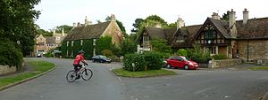Hambleton, Rutland - Image: Cmglee Upper Hambleton high street