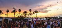 Coachella 2014 sunset with balloon chain and Lightweaver.jpg
