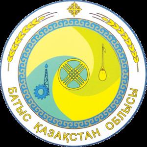 West Kazakhstan Region - Image: Coat of Arms Batys Oblysy