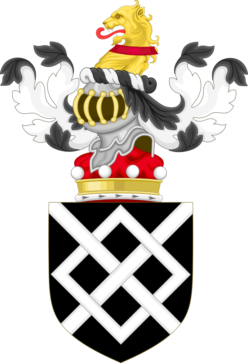 Coat of Arms of Baron Harington.png