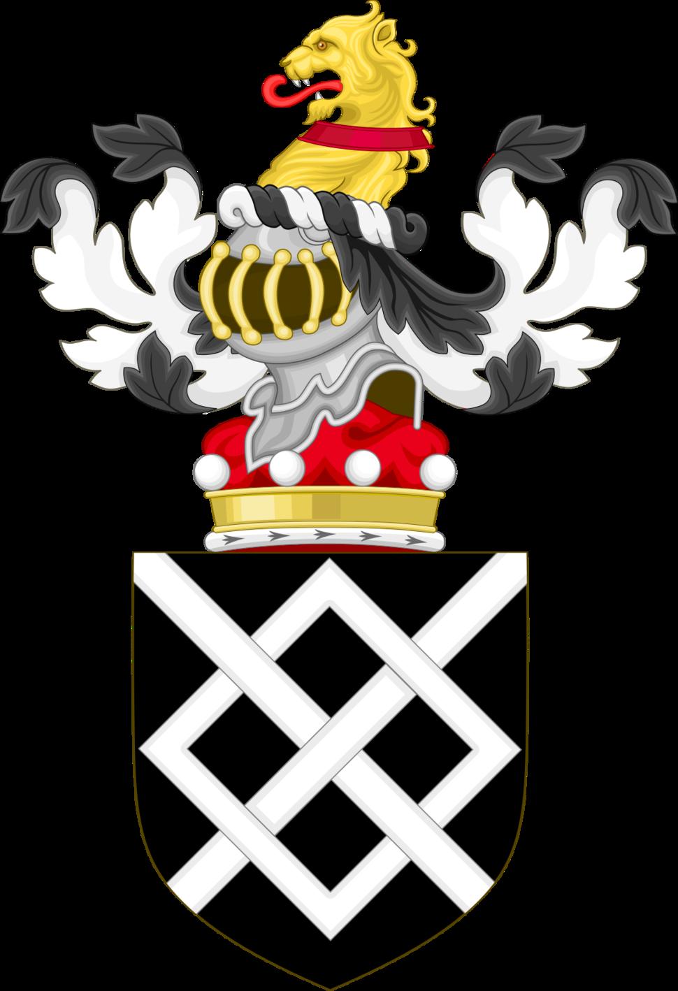 Coat of Arms of Baron Harington.png