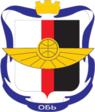 Coat of Arms of Ob (Novosibirsk oblast).png