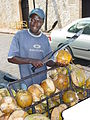 Coconut Seller with Machete - Santo Domingo - Dominican Republic.jpg