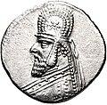 Coin of Gotarzes I (cropped), Ectbatana mint.jpg