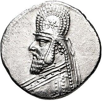 Gotarzes I - Coin of Gotarzes I.