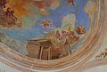 Col·legi Major Rector Peset de la Universitat de València, detall dels frescos de la cúpula.JPG