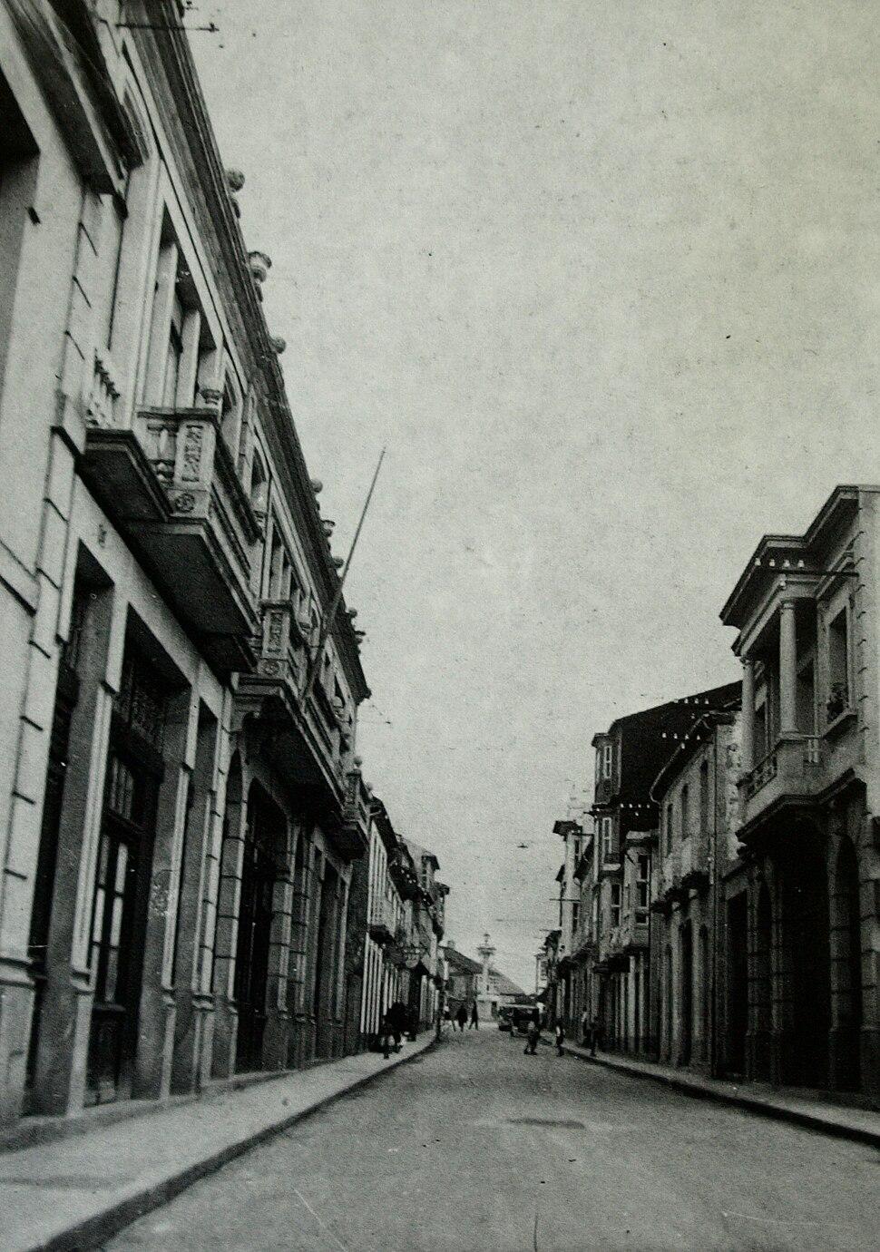 Instituto da Estrada, onde traballou dende 1933 ata o comezo da guerra civil.