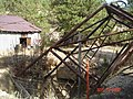 Collapsed foundation, Headframe - New York Mine - panoramio.jpg