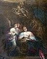 Collection Motais de Narbonne - Nativité de l'Enfant Jésus avec les anges - Huile sur Cuivre - Giovanni Andrea Donducci.jpg