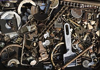 Scrap - Collection of leftover scrap metal items