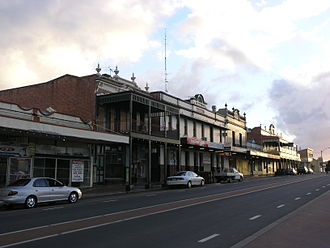 Collie, Western Australia - Main street of Collie