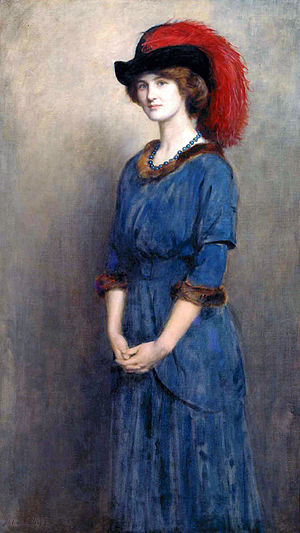 1914 in art - Image: Collier Angela Mc Innes
