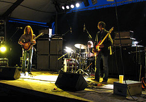 Colour Haze - Colour Haze: Stefan Koglek, Philipp Rasthofer, Manfred Merwald performing live in The Netherlands on 15 August 2008