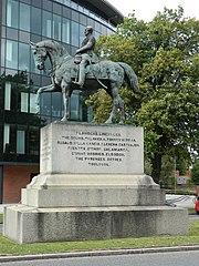 statue équestre du vicomte Combermere