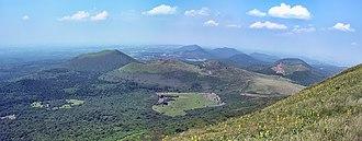 """Auvergne - The """"Chaîne des Puys"""" in Puy-de-Dôme"""