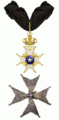 Commandeurskruis en ster van de Orde van de Poolster Zweden.png