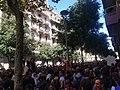 Concentració davant la seu CUP de Barcelona contra l'assalt policial - 1.jpg