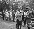 Concours Hippique te Rotterdam Prins Bernhard , prinses Beatrix in het kamp van, Bestanddeelnr 912-8916.jpg
