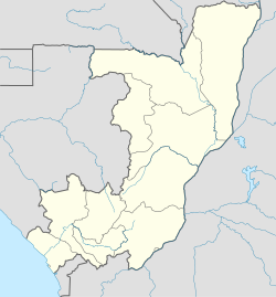 Bouansa is located in Republic of the Congo
