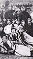Congress of Erzya scientists in Moscow 1920s. Vladimir Ryabov with his wife.jpg