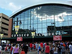 Conseco Fieldhouse; Indianapolis, IN Now called Bankers Life Fieldhouse.jpg