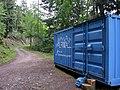 Container oberhalb des Hirschsprungs für Felssicherungsarbeiten 2.jpg