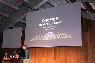 Libre Graphics Meeting - Copying is an act of love, presentation at LGM 2013