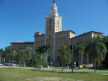 How to get to Miami Biltmore Hotel with public transit - About the place