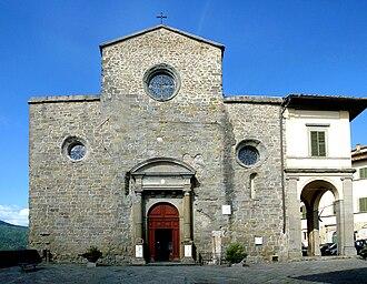 Roman Catholic Diocese of Arezzo-Cortona-Sansepolcro - Image: Cortona catedral