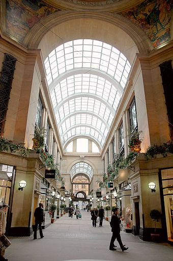 The Exchange Arcade inside the Council House Council house 1.JPG