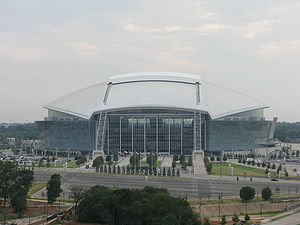 HKS, Inc. - AT&T Stadium in Arlington, Texas was designed by HKS