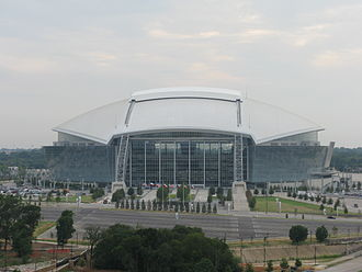 2009 Oklahoma Sooners football team - Cowboys Stadium, site of the Sooners' season opener.