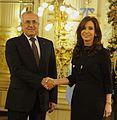 Cristina Kirchner con Michel Sleiman 03.jpg