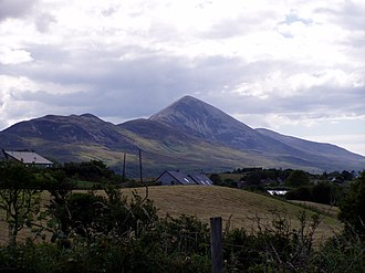 Croagh Patrick - Image: Croagh Patrick in 2002