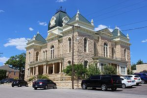 Ozona, Texas - Crockett County Courthouse (c. 1902)