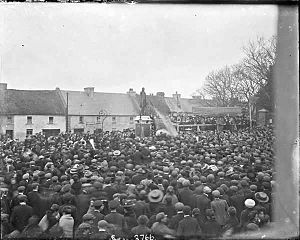 Abbeyfeale - Unveiling of statue to Father William Casey in 1910