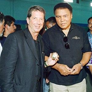 Yank Barry - Yank Barry and Muhammad Ali at an award ceremony