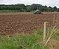 Cultivating on the old Goxhill Airfield - geograph.org.uk - 976471.jpg