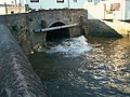 Culvert at seaward end of the Washford River - geograph.org.uk - 2372638.jpg