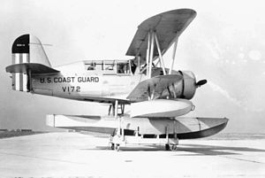 Curtiss SOC Seagull - A SOC-4 of the U.S. Coast Guard.