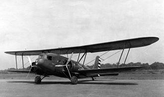 Curtiss T-32 Condor II - A USAAC YC-30 in 1933