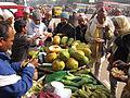 Cut Fruits Stall - Gangasagar Fair Transit Camp - Kolkata 2012-01-14 0839.JPG
